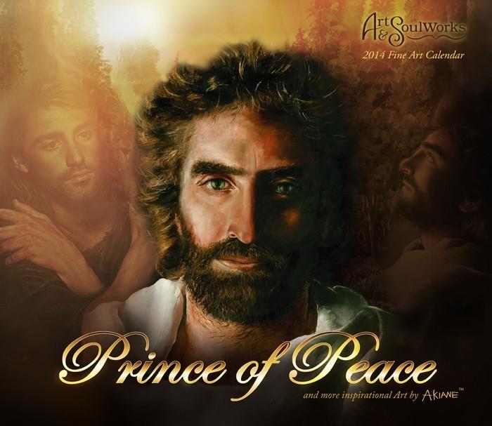 Akiane Kalender 2014 Prince Of Peace Elfenhaus Versand