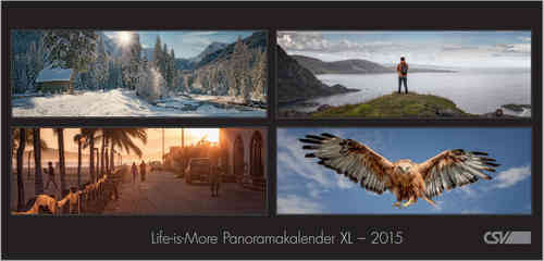 Life is more - Panoramakalender XL 2015