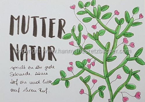 Letters of Honey: Mutter Natur