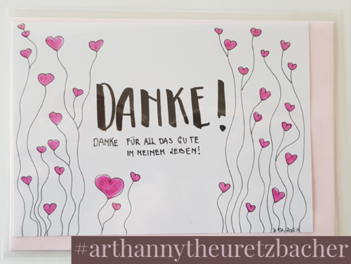 Letters of Honey: Danke!