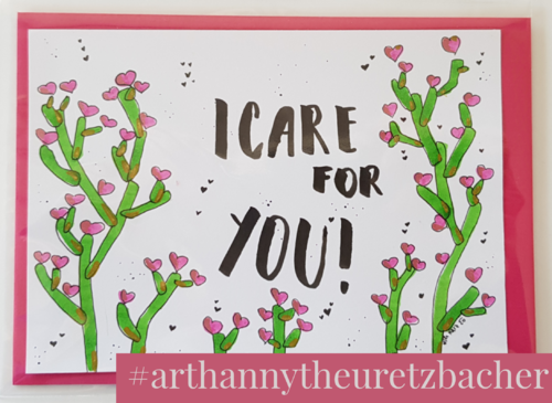 Letters of Honey: I care for You